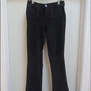 Goldsign pants Charcoal gray stretch